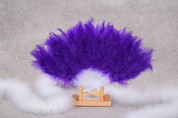 21 plumas plumas y dinette espectáculo props baile cuadrado colorido 13 color plumas ventilador rendimiento suministros