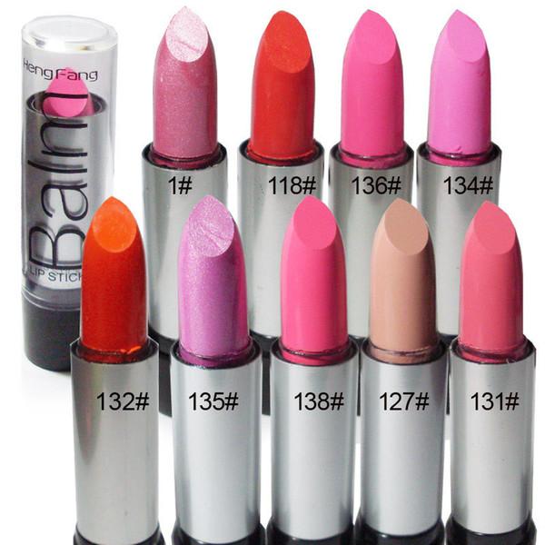 12 Colores diferentes Lápiz labial atractivo Impermeable Hidratante Labial de larga duración Belleza Brillo labial Maquillaje Nude Rosa Naranja Rojo