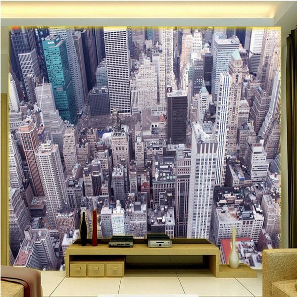 3D Stereo Custom HD Aerial View Urban Landscape TV