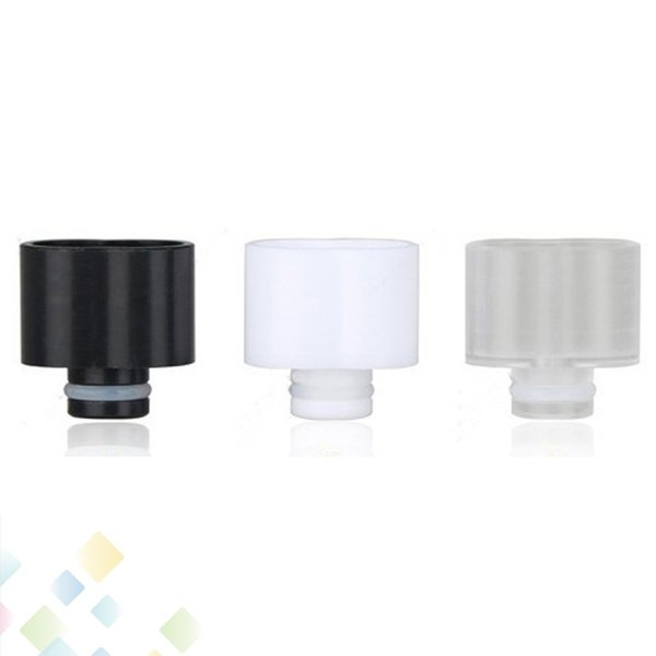 Vape Super Wide Bore Delrin Drip Tips 510 Drip Tips 18mm 8 Shape Drip tip fit 510 Electronic Cigarette RDA Atomizer DHL Free