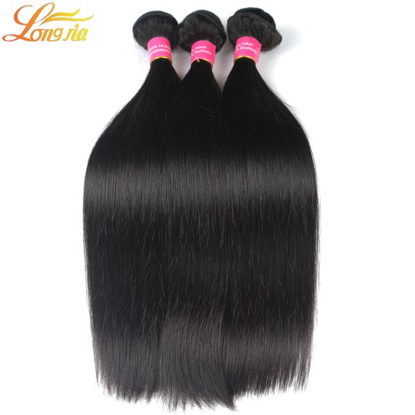 4pcs/lot Top-Selling Hair Extensions 7A Brazilian Peruvian Malaysian Indian unprocessed Virgin Hair Bundles Silky Straight Hair Weft Weave