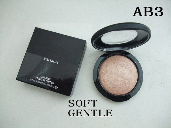 High qualitynew arrival face mineralize kinfini h poudre face powder 10g 10 color 1pc lot