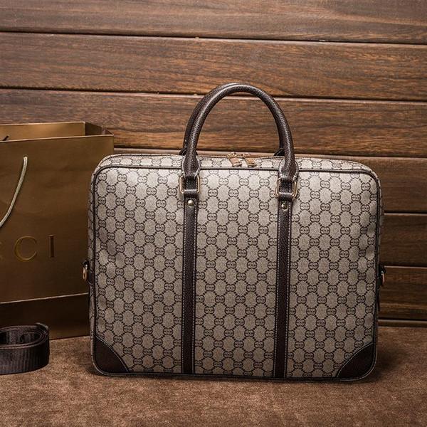 Unisex Vintage Designer Bolsos Hombres y mujeres Hombro de viaje Marca de moda de negocios Simple Bolsa de gran capacidad de impresión Bolso masculino Bolsos