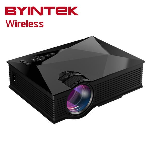 Gros-Bt460 Smart Airplay Miracast WIFI HD Home Cinéma uC60 LCD Portable HDMI USB Jeu Vidéo LED Mini Projecteur Pour Iphone Android