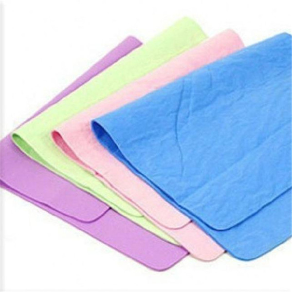 Wholesale- High Quality Car Nature Real Leather Washing Cloth Cleaning Towel Wipes Chamois Cham