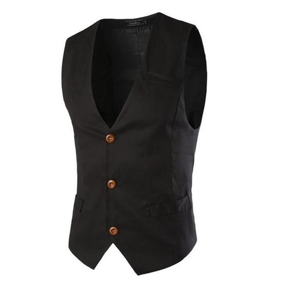 Fashion- Latest Casual Fashion Classic Men€s Suit Vest Type Waistcoat Wedding Party Sportsman Essential Business Men