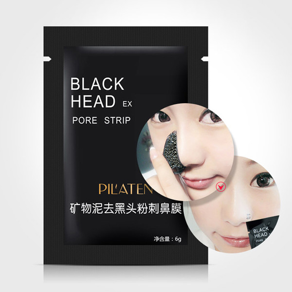 top popular PILATEN Black Mask Blackhead Remover Deep Cleansing Purifying Peel-off Mask Pore Cleanser Facial Mask Good Quality 2021