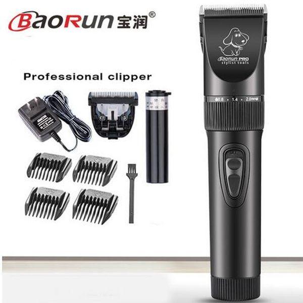 Baorun P7 recharge professional dog electric hair clippers trimmers animal pet shaver cutting haircut machine scissors EU US UK