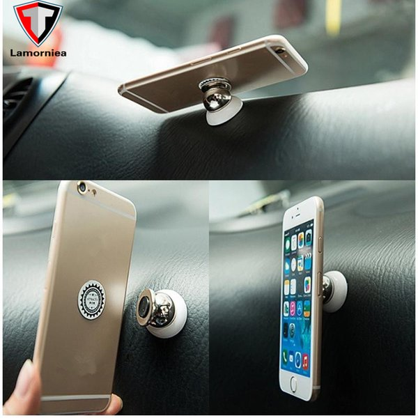 360 Car Holder Mini Air Vent Mount Magnet Magnetic Cell Phone Mobile Holder Universal For iPhone 7 6 5 GPS Bracket Stand Support