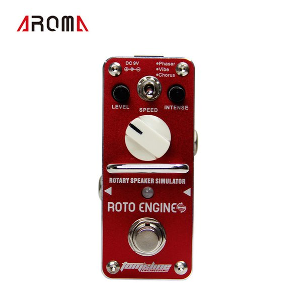 AROMA ARE-3 ROTO ENGINE Rotary Speaker Simulator Mini Digital Effect True Bypass Guitar Pedal
