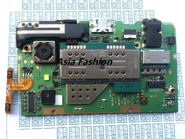 Unlocked TEST UTILISE Lenovo P780 mère Mainboard Conseil avec la carte SIM de la caméra bouton d'alimentation du volume d'antenne GPS Livraison gratuite