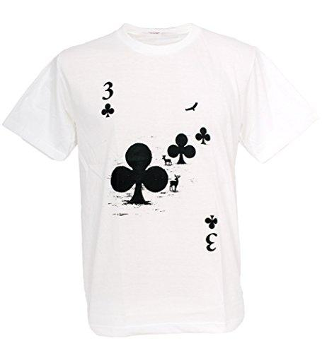 Forest Playing Card Love Ace Man T-shirt
