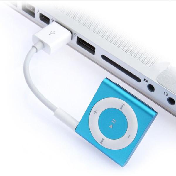 Cavo da 3,5 mm Jack a caricatore USB 2.0 Cavo dati Cavo audio per cuffie per shuffle 3a 4a 5a 6a gen