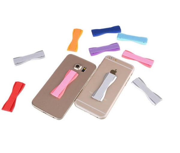 New Arrival Mobile Phone Handle Elastic Finger Grip Belt Secure Phone Holder For Cell Phone Tablet PC
