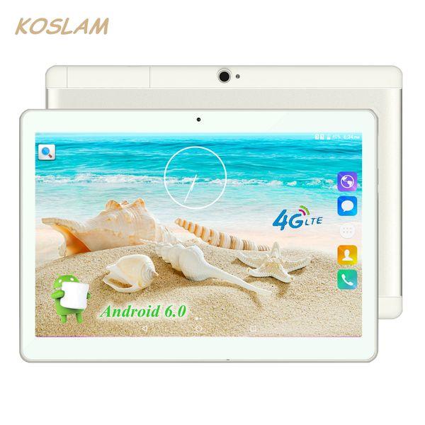 """Wholesale- 10.1 Inch Android 6.0 Tablet PC Pad Phablet Tab Quad Core 2GB RAM 16GB ROM 10.1"""" 1920x1200 IPS 4G TDD FDD Dual SIM Phone Call"""