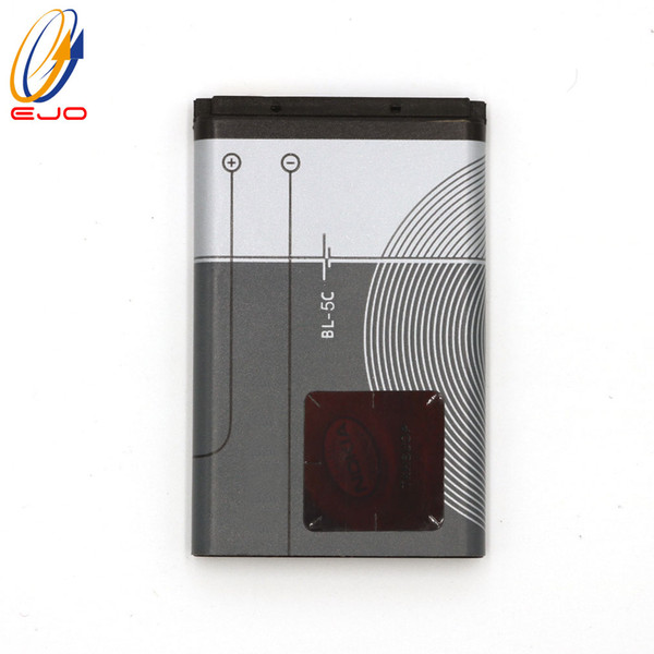 top popular Battery For Nokia 5C 6600 BL-5C 1110 3100 6680 N70 Cell Phone Replace Li-ion Battery Can Customize logo 2019