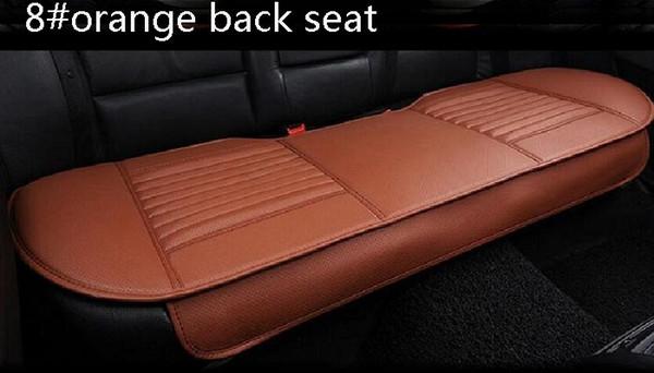 8 # siège arrière en orange