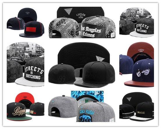 Newest Arrival Hat Snapbacks Ball Hats Fashion Street Headwear adjustable size Cayler & Sons custom football caps drop shipping top quality