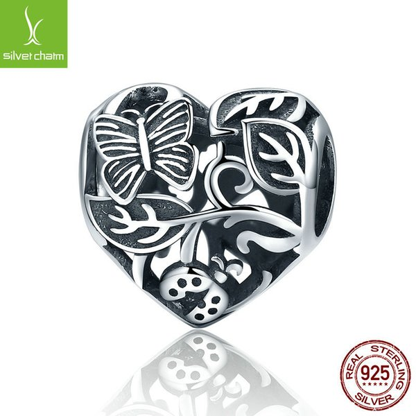 2018 Wholesale Vintage 925 Sterling Silver The Garden After Rain Beads Fit  Original Pandora Charm Bracelet Diy Jewelry Gift C155 From Wendearjewlery,