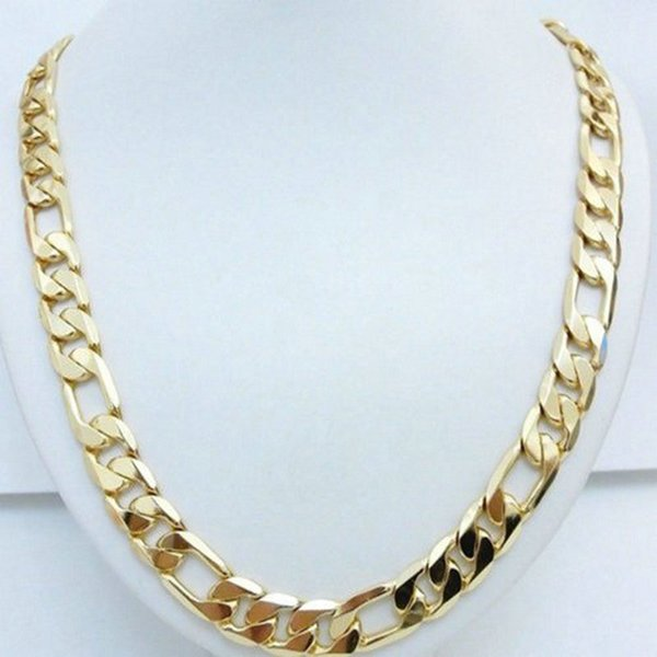 collier homme or fin