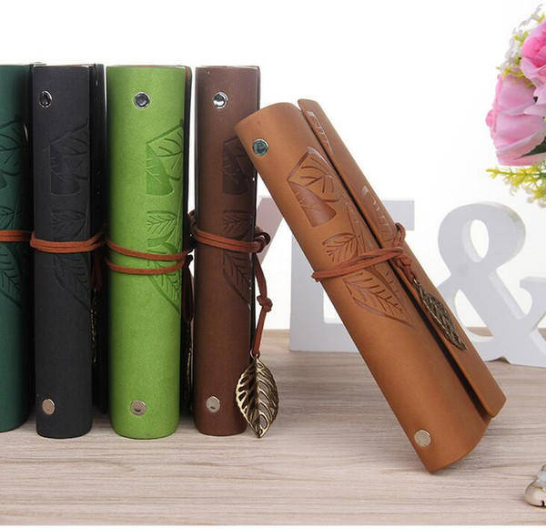 best selling European creative notebook school office supply note book paper vintage kraft papers writing Notepads classical notebooks Loose-leaf book