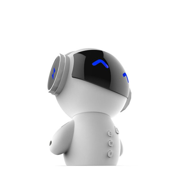 New DingDang Cute M10 portable Robot Bluetooth Speaker Stereo Handsfree with power bank AUX TF MP3 Music Player Free DHL