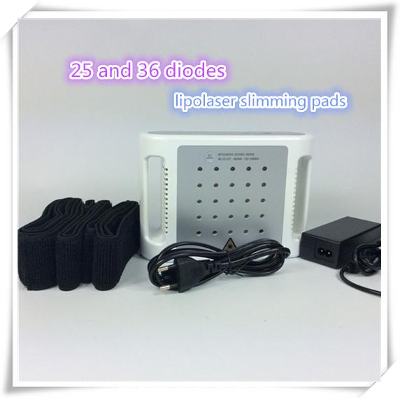 mini lipo laser slimming machine 25 and 36 diodes mini home use fat reduce lipolaser pads slim equipment