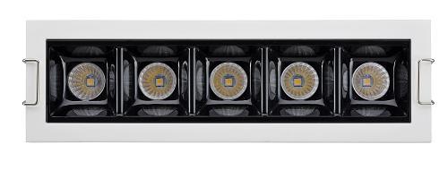 best selling iguzzini Laser Blade light 3W 6W 12W 22W 35W CRI>90 high quality cabinet light linear downlight using in jewelry store watch store light