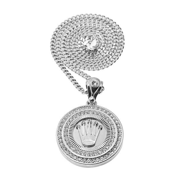 collana pendente in argento