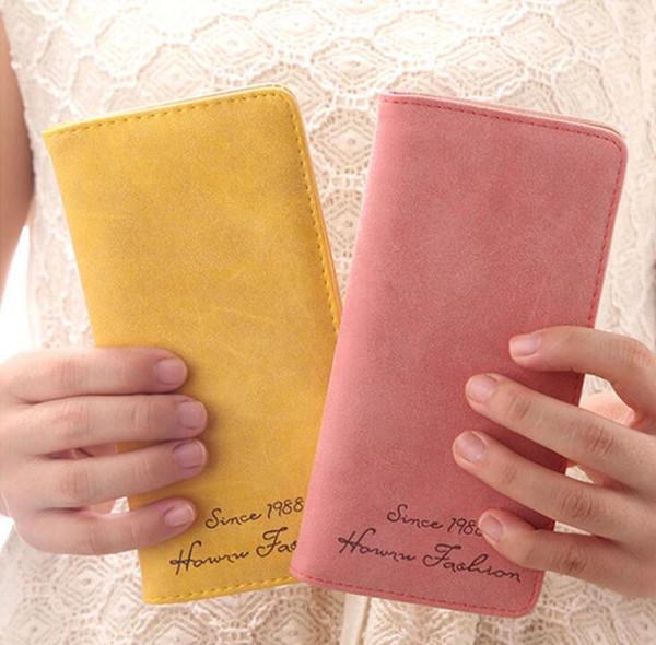 Fashion New Pattern Multi Function Long Hasp Women Wallets Large Pocket 2 Fold Credit Card Holder Wallet Free Shipping