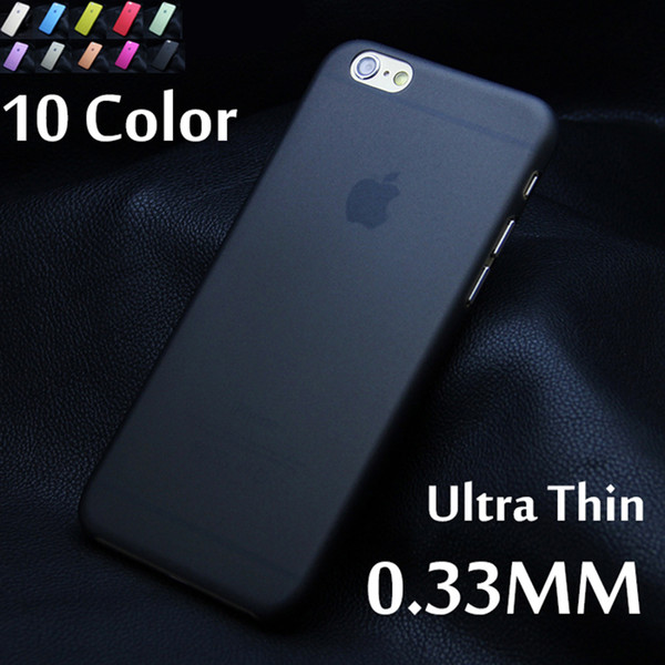 1pcs Matte Transparent Ultra-thin 0.3mm Back Case For iPhone 7 plus 5 5S 5c SE 6 6s plus PC Protective Cover Skin Shell