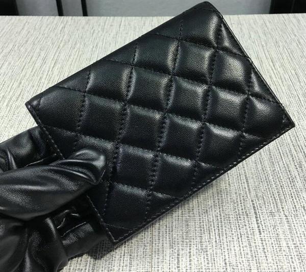 31541 Folding Card ID Holder women wallet genuine leather famous brand short wallets
