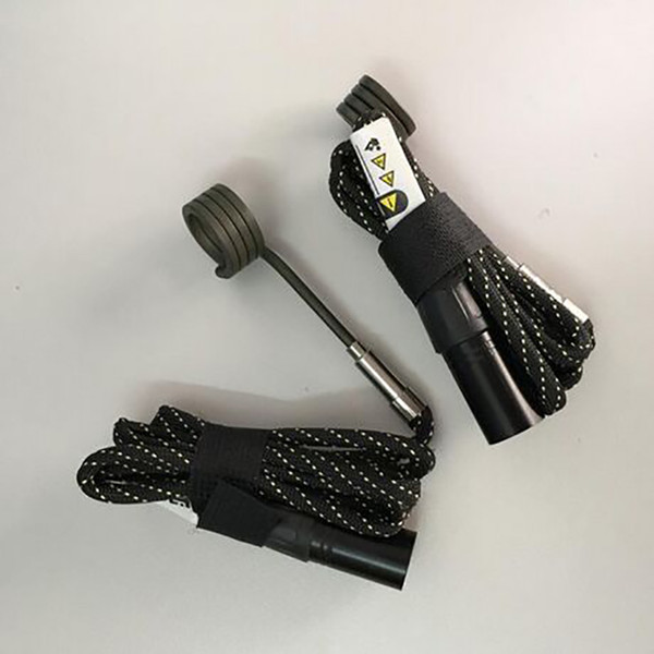 Calentador de bobina macho de enchufe 110V 100W 240V XLR con termopar tipo K Calentador de bobina de clavo para bongs de agua de vidrio