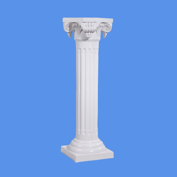 Upscale LED Luminous Plastic Roman Column Wedding Events Welcome Area Decoration Photo Booth Props Supplies 4pcs/lot
