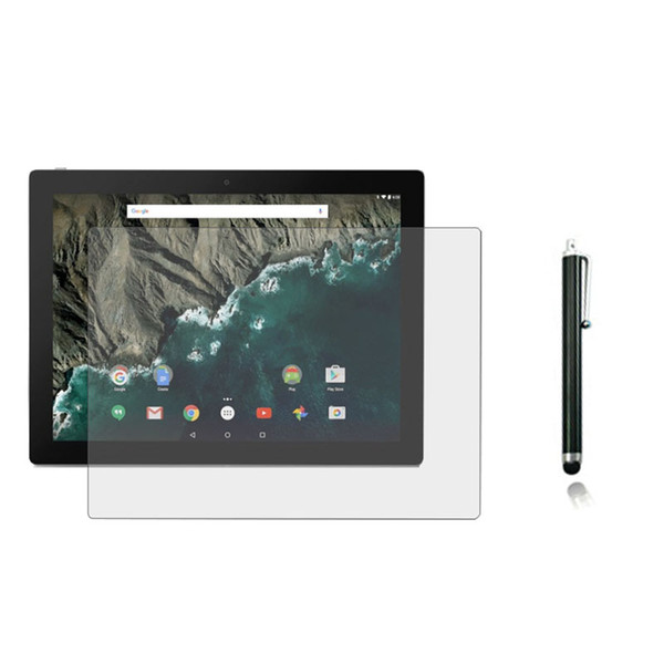 "Wholesale- 1x Film +1x Cloth +1x Stylus , Anti-Glare Matted Screen Protector Guards Matte Protective Films For Google Pixel C 10.2"" Tablet"