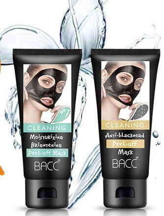 BACC 60g Top quality keratin repair bamboo charcoal hydrating mask remove the black Bamboo charcoal tear the mask