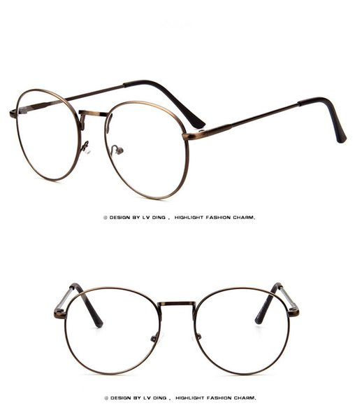 d893184030 Eyeglasses Prescription Retro Glasses Frames Lenes Women Men Eyewear  Original Metal Frame Fashion Vintage Glasses Men LT9254