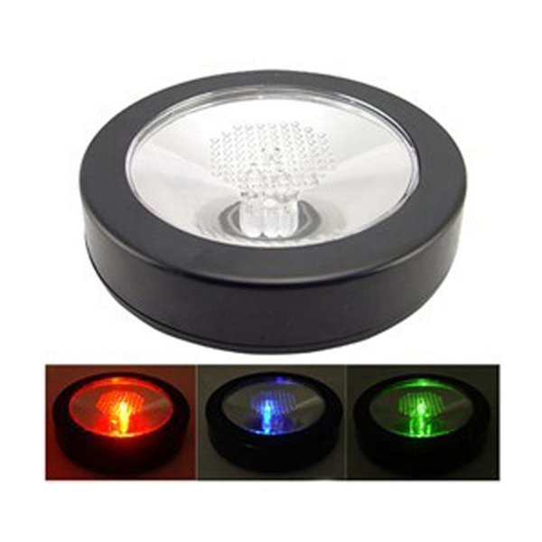 Funzionamento a batteria LED Light Up Coasters Forma rotonda leggera Flash Mat Mat Per Club Bar Regalo di Natale