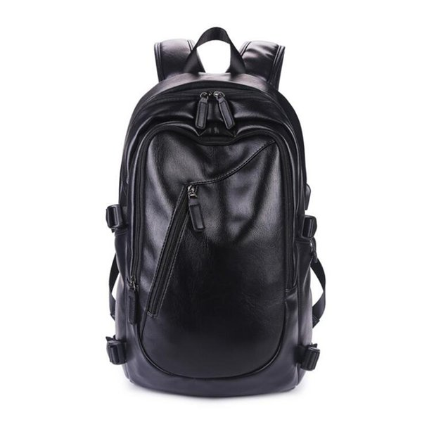 PU traveling backpack for men women casual fashion 14 inch laptop backpacks big size tide Computer school Backpacks free shipping
