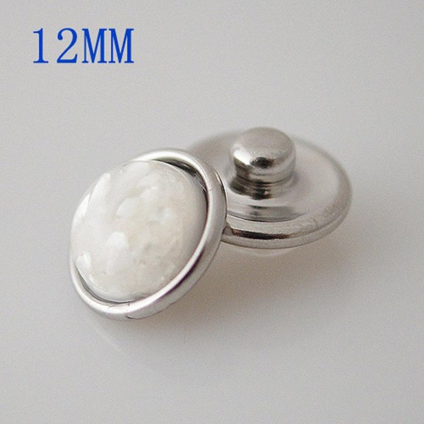 Partnerbeads Mini Snaps Button Shell Small Chunks For DIY Interchangealbe 12mm Small Ginger Snaps jewelry KB3190-CA