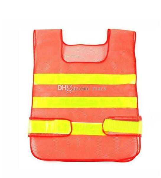 Best selling Visibility Reflective Safety Vest Coat Sanitation Vest Traffic Safety warning clothes vest Safety working waistcoat cloth