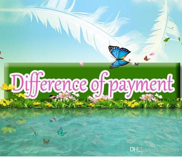 Spese di spedizione / Differenza di pagamento