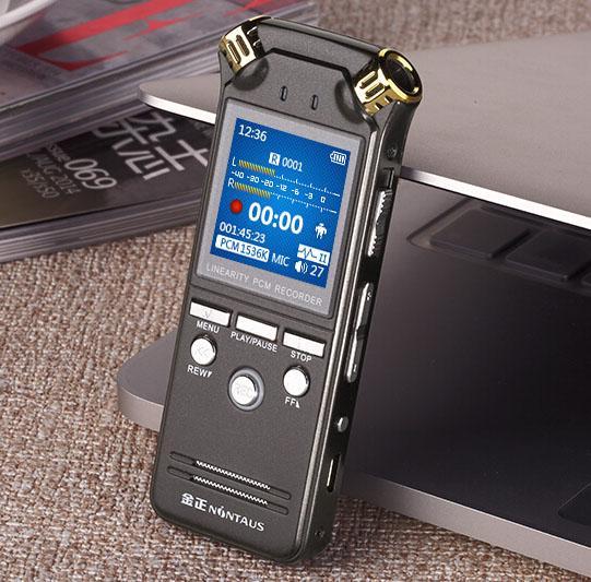 Wholesale-W990A NiNTAUS Mini 16GB HD pen machine digital professional voice music meeting mp3 player recorder micro audio sound recording