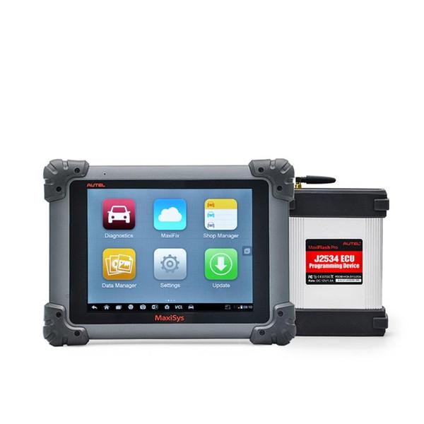 Autel MaxiSys Pro MS908P MS908 PRO Outil de programmation de diagnostic / ECU Bluetooth / WIFI avec mise à jour du système J-2534 en ligne