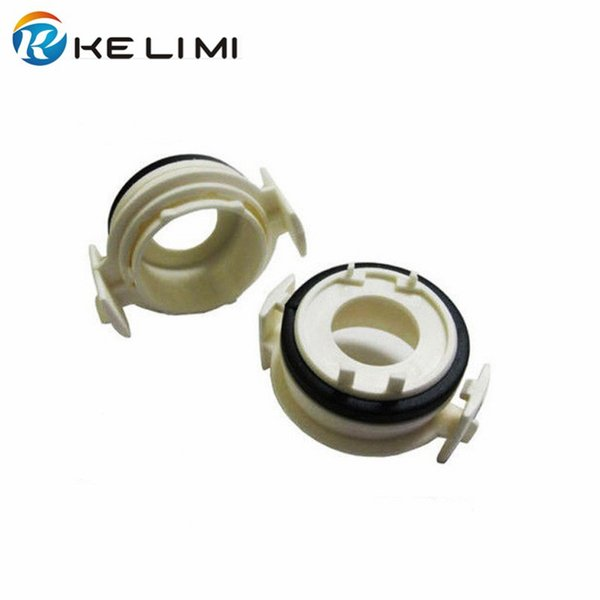 best selling White h7 adaptor base for 1999-2004 BMW 3 Series 330xi 325xi 328ci vehicle headlight conversion bulb holder adapter socket
