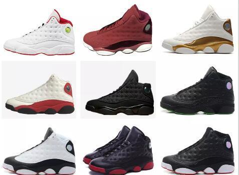 Mens basketball shoes 13 DMP Black cat play off DB Heiress red velvet HOF grey toe he got game Sports Shoes mens women