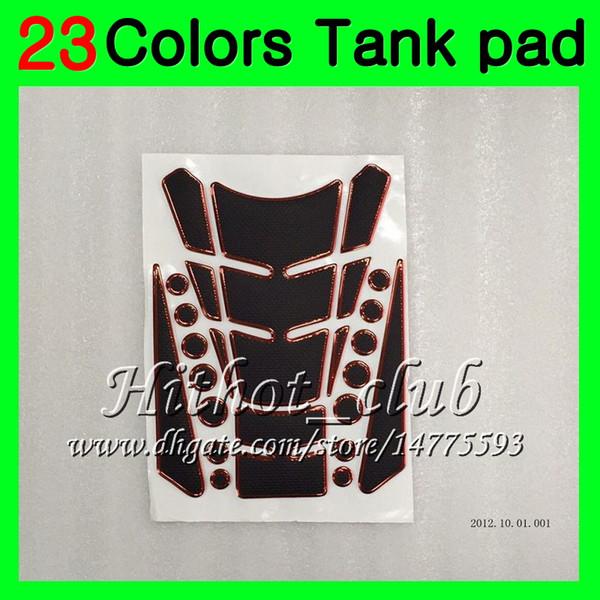 23Colors 3D Carbon Fiber Gas Tank Pad Protector For HONDA VFR400RR 89 90 91 92 93 NC30 VFR400 RR 1989 1990 1991 92 1993 3D Tank Cap Sticker