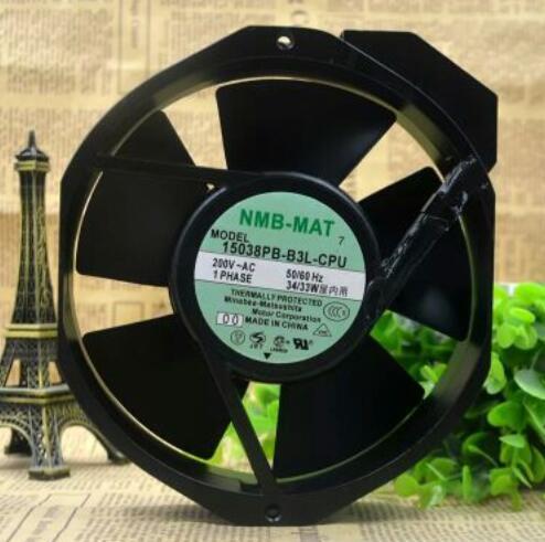 Original NMB-MAT7 15038PB-B3L-CPU 34W 17CM 17038 device fan