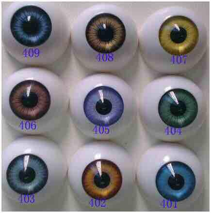 2017 Best selling Free shipping round shape lovely Fashion Doll eyes acrylic eyes bjd doll accesories reborn doll toys parts (8mm to 22mm)
