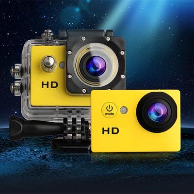Wholesale-NEW[720P Digital Camera+4G SD TF Card]1.5 inch Screen Photo Camera Underwater 30m waterproof Cameras Video Recorder Mini camera
